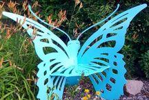 Butterflies / Custom Made Butterflies for indoor or outdoor use.