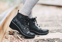 Alegria Eliza / Alegria Shoes Eliza is a new addition to the Alegria Career Fashion collection. This sleek ankle boot features the Career Fashion outsole with a lightweight, slim silhouette and two-inch heel.  / by Alegria Shoe Shop