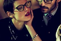Ultra Stylish Frames / Cool People in Glasses
