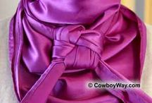 Cowboy Wildrags / silk scarves the cowboy way