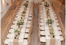 svatba stoly