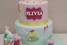 Gâteau  / cake Peppa Pig