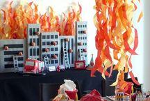 Cumpleaños bomberos