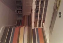 Striped Carpets On Stairs / Striped Carpets On Stairs