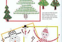 korálky vánoční