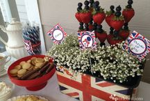 Baby Smith Shower / Dapper Little Union Jack theme / by Jenny Prior