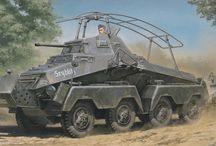 WW2 - SDKFZ 232 (8-RAD)