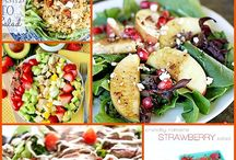 summer salads &fresh dishes