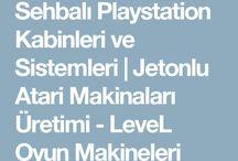 Sehpalı PlayStation / 1tl ile çalışan PlayStation . Bilgi ve sipariş için;0532 554 75 39 nolu telefonla iletişime geçebilirsiniz, www.atarimakinalari.com