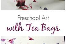 Children's art and craft