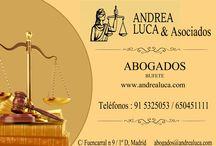 Abogados Madrid Derecho de la Construcción y Urbanismo / ABOGADOS MADRID BUFETE DE ABOGADOS MADRID ANDREA LUCA & ASOCIADOS DERECHO DE LA CONSTRUCCIÓN DERECHO CIVIL DERECHO LABORAL DERECHO ADMINISTRATIVO DERECHO DE FAMILIA DERECHO PENAL URBANISMO ASESORÍA FISCAL Y CONTABLE