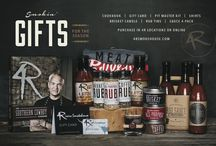 2014 Holiday Season / Check out our Smokin' Gifts for the holiday season!   Purchase at all 4R Locations or Online :   www.4rsmokehouse.com/store