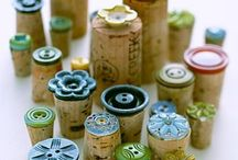 Button and cork projects