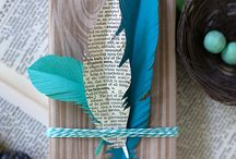 Craft: Paper feathers