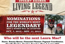 Living Legend 2014 / by Stormy Kromer
