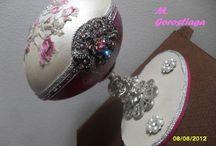 MELIRARTE ART-WORKS / Huevos imitación Fabergé