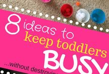 Toddler busy