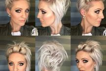 Hairstyle on Pixie /short hair