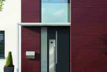 Custom Exterior Door / True custom exterior doors from Loewen Doors with the highest Security standards & Löwen Doors (loewendoors) on Pinterest