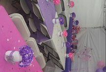 Asztal díszítés