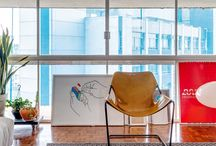 Histórias de Design / Projetos executados com respeito à história dos imóveis e seus proprietários.