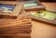 Rustic-Wood. Элемент декора. / Доброму кадру - соответствующее обрамление.  Рамки для фотографий,картин и миниатюр.