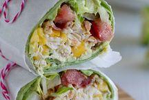 Sandwiches & Wraps / Yummy sandwiches & Wrap Ideas