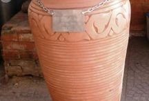Potty about pots / This is a story about a girl called April, an Amphoras pot and an artificial reef project.  Each day we will add a photo about the pots journey.