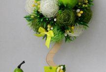 Drzewka - Topiary DIY