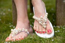 Slippers versieren / Slippers versieren