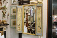 Scuri decorati con specchiera