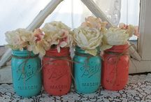 Wedding Colors, Crafts, Decorations  / by Sara Monday