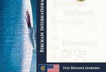 BIU Documents / Bircham International University PDF documents, Study Guide, Brochures, References, Diploma Samples...
