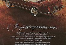 1980s Cadillac Print Ads