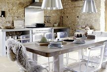 the kitchen! Location of the most beautiful chat.