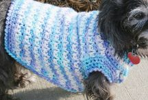 Dog Sweaters and Accessories / by Judy St John-Kelley