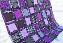 Lilac, mauve and purple quilts