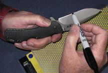 Knife, sharpening....