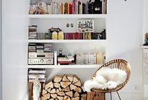 Interior / bookshelves