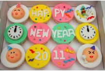 New year special cup cakes