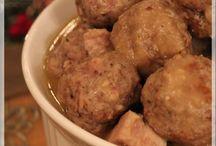 Ragoût de boulettes et de longe de porc