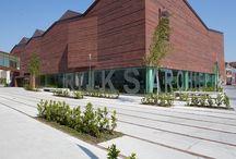 FAB Awards 2013 / Salens Architecten uit Brugge wint Wienerberger prijs voor de 'Beste toepassing van Keramische bouwmaterialen' voor het Rijksarchief te Brugge, op de FAB Awards voor Architectuur & Energie. //Salens Architecten de Bruges a reçu de Wienerberger 'Le prix de la Meilleure utilisation de matériaux en terre cuite' pour les Archives de l'Etat à Bruges, aux FAB Awards pour l'Architecture & l'Energie.