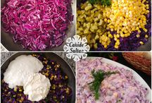 mezeler salatalar