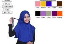 katalog / Katalog produk model hijab indonesia dari Lamia Hijab Kerudung - Khimar - Bergo - Jilbab