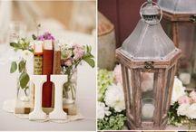 Wedding centerpieces /    Lanterns