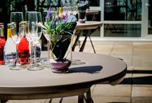 Cocktail Tables / #FoldingFurniture for parties and #outdoorevents. Convenience and comfort