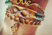 Arm candy / Watches#rings#bracelets