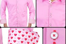 Valentines Day / Dress Shirts inspired by Valentines Day - Proudly made in the USA
