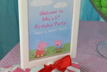 Peppa birthday ideas