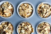 Pumpkin + Almond Recipes / Celebrate fall by enjoying the delicious recipe combinations of pumpkin and almonds.